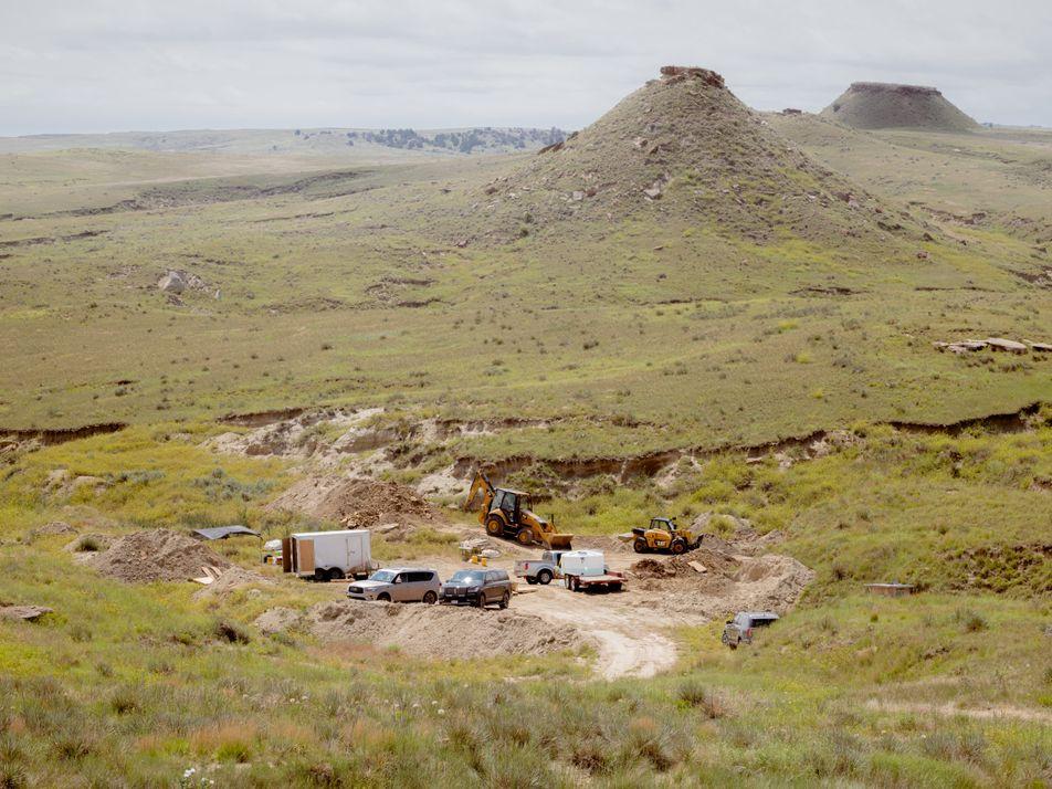 Edmonds Urzeitreich: Die Ausgrabungsstätte