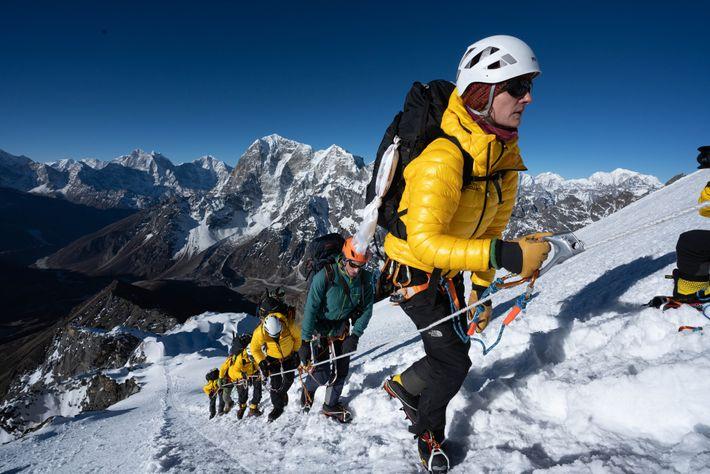 Everest Aufstieg