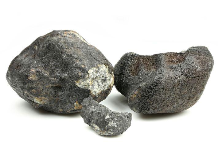 Abbildung eines Meteoriten-Fundstücks