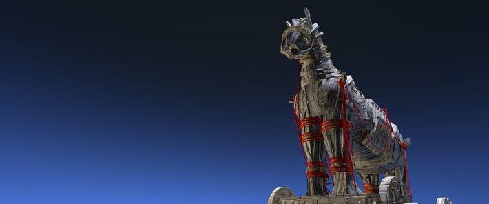 Ursache der Niederlage: das Trojanisches Pferd