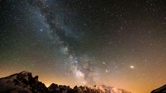 Ich sehe was, das du nicht mehr siehst: Sternenparks bieten die Möglichkeit, trotz Lichtverschmutzung einen Blick ...