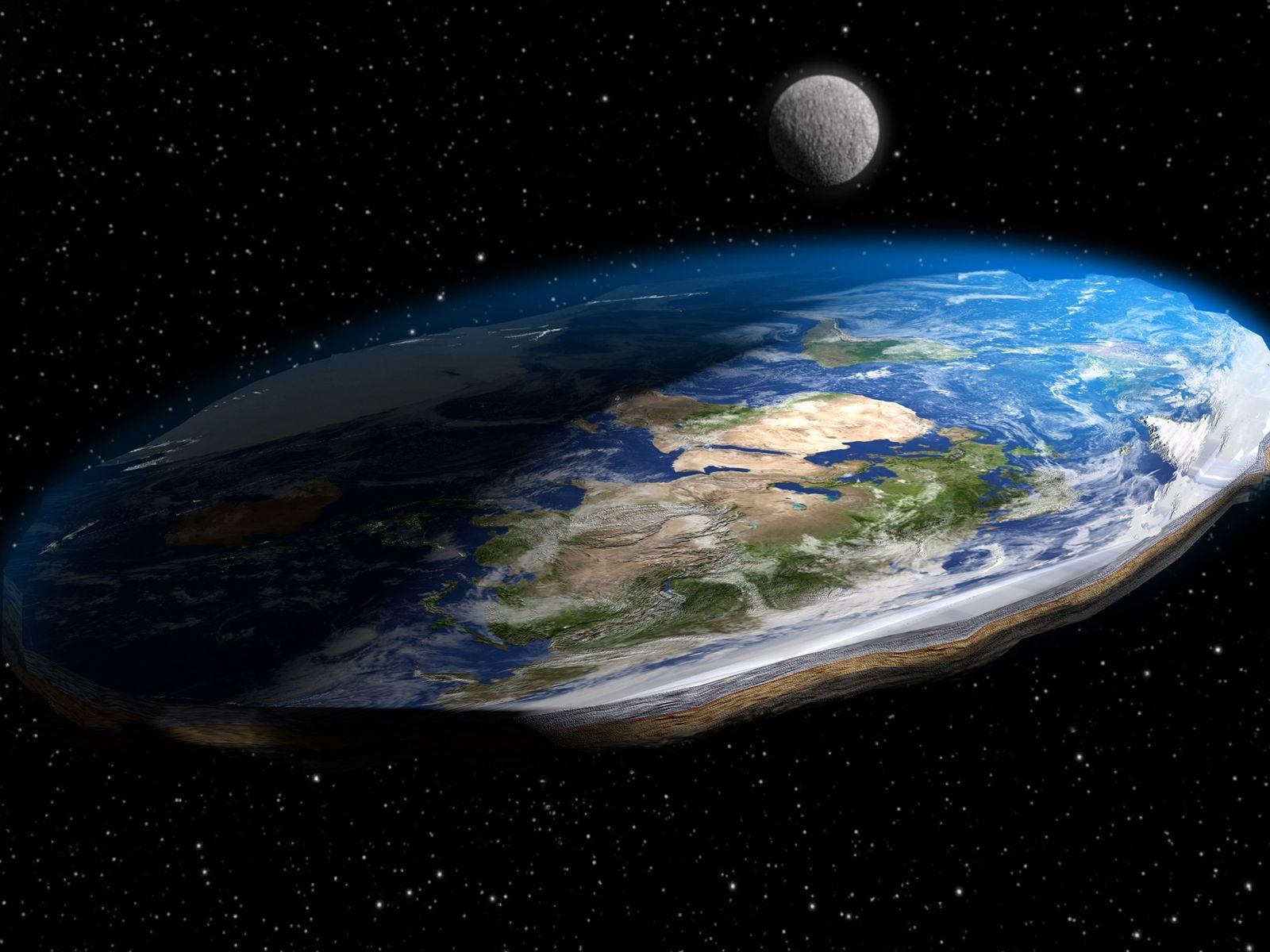 Satire über Wissenschaft: Die Erde ist eine Scheibe?