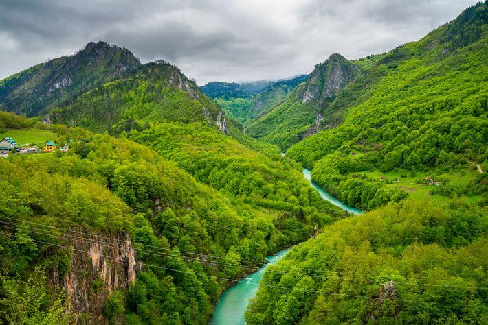 Montenegro Tara Schlucht