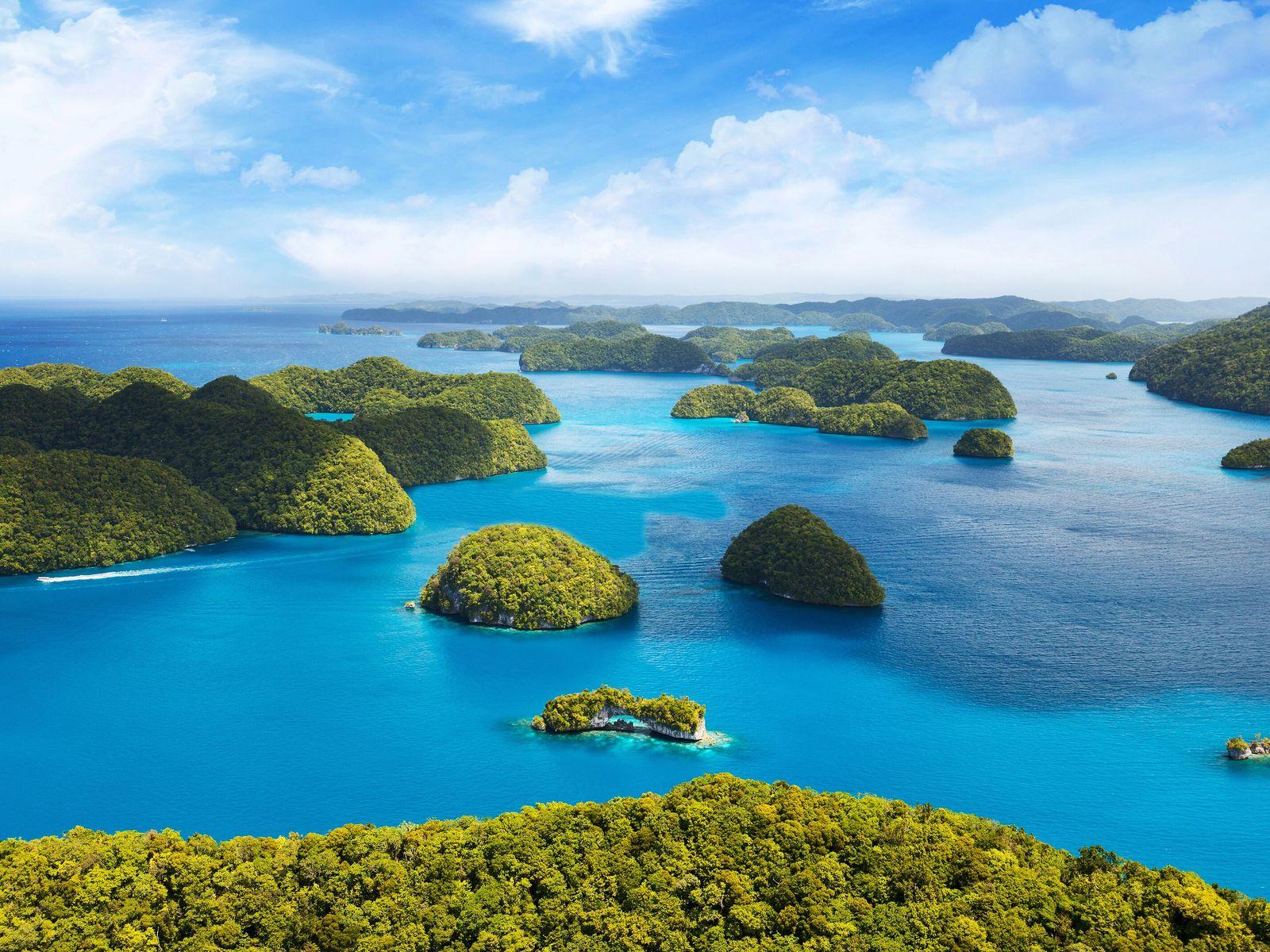 Inselstaat Palau im Pazifischen Ozean