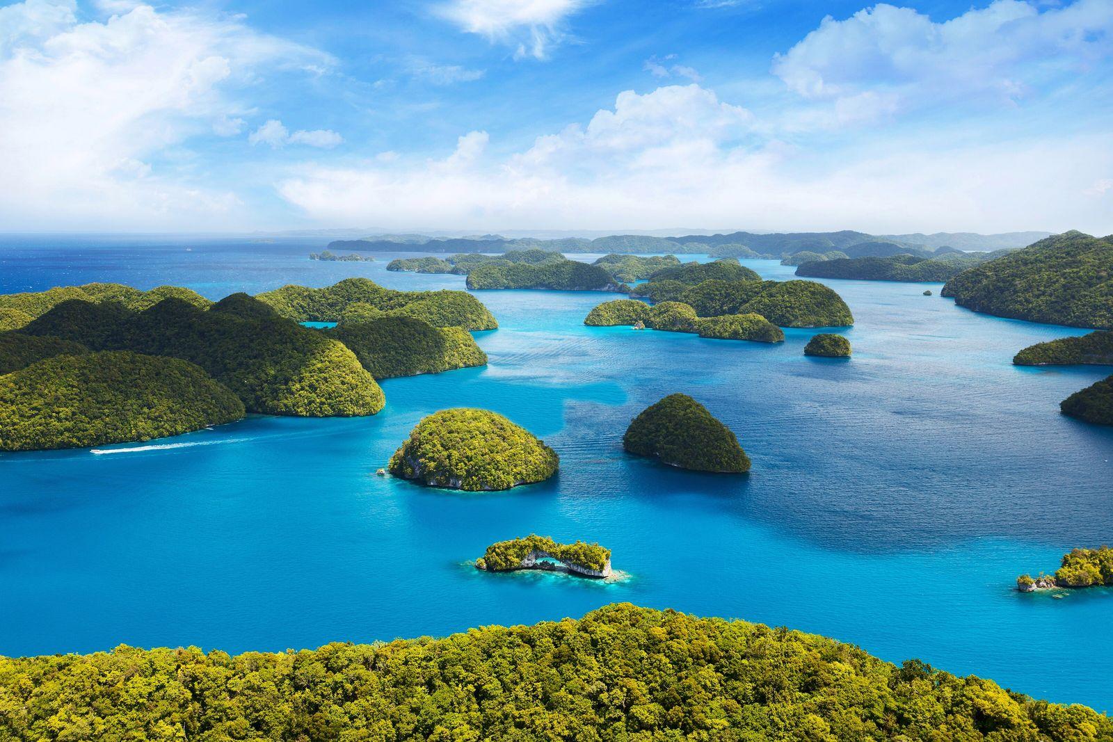 Inseln des Inselstaats Palau