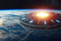 Galaktische Karte für Aliens