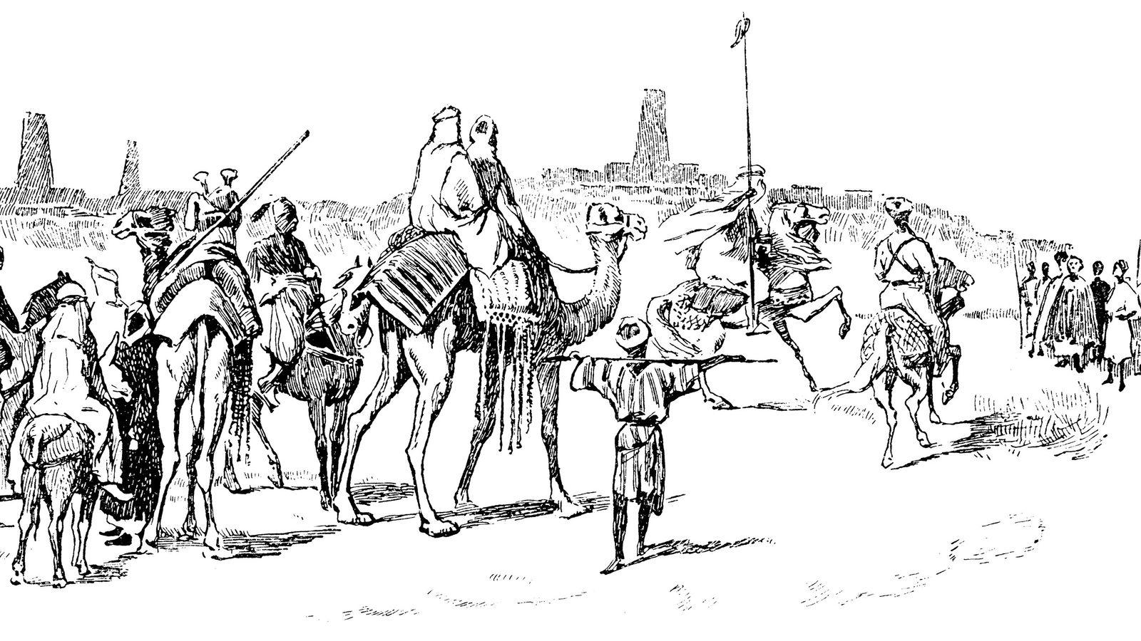 Heinrich Barth nähert sich am 7. September 1853 Timbuktu.