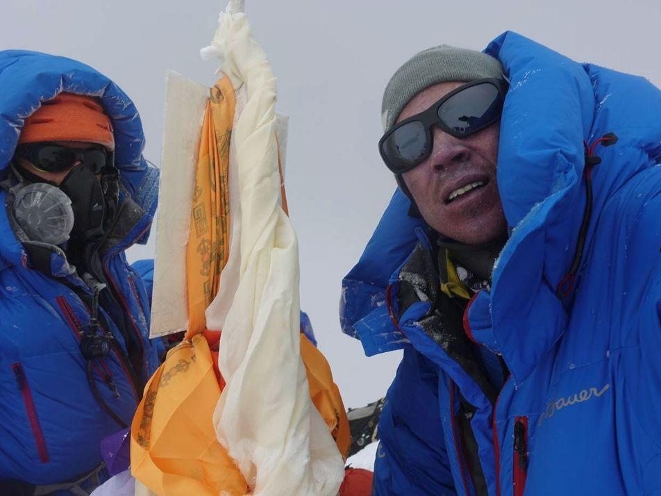 Die Erfüllung eines Kindheitstraums auf dem Gipfel des Mount Everest