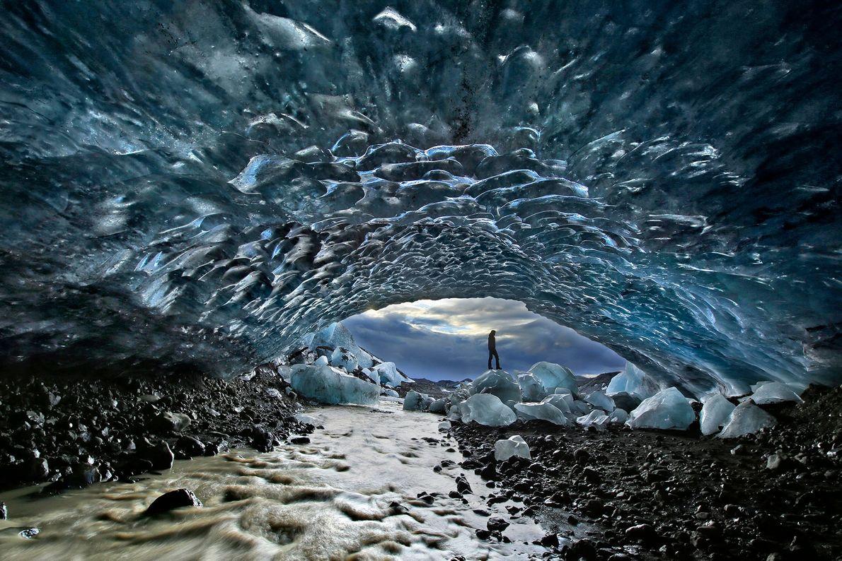 Fjallskokull glacier, Iceland