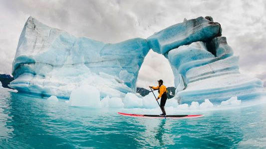 Extreme auf dem Eis: 21 spektakuläre Fotos frostiger Abenteuer