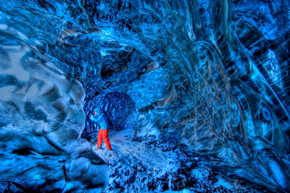VATNAJÖKULL-GLETSCHER, ISLAND