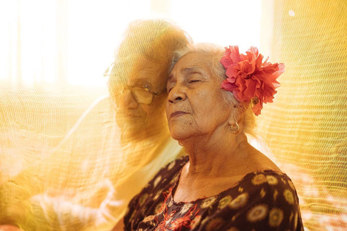 Ein Paar auf den Philippinen