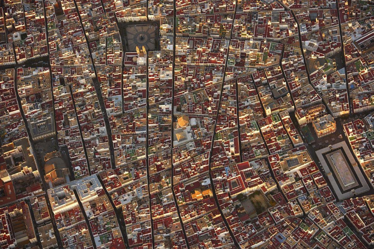 Die spanische Stadt Cadiz
