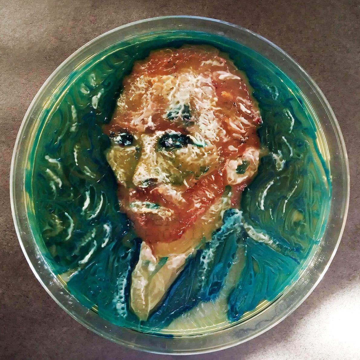 """""""Van Gogh gehört zu meinen Lieblingskünstlern, weil seine Gemälde so viel Licht und Wärme ausstrahlen"""", schrieb ..."""