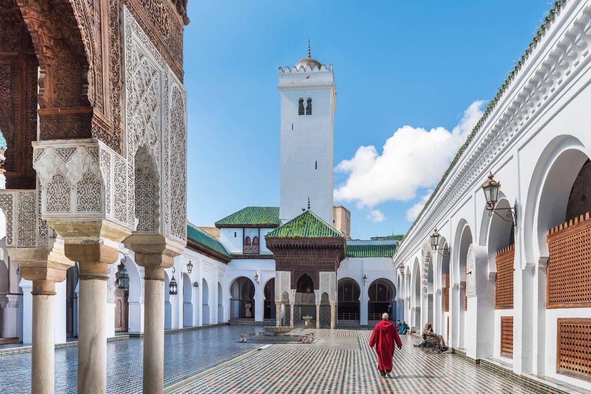 Bibliothek der Universität al-Qarawīyīn