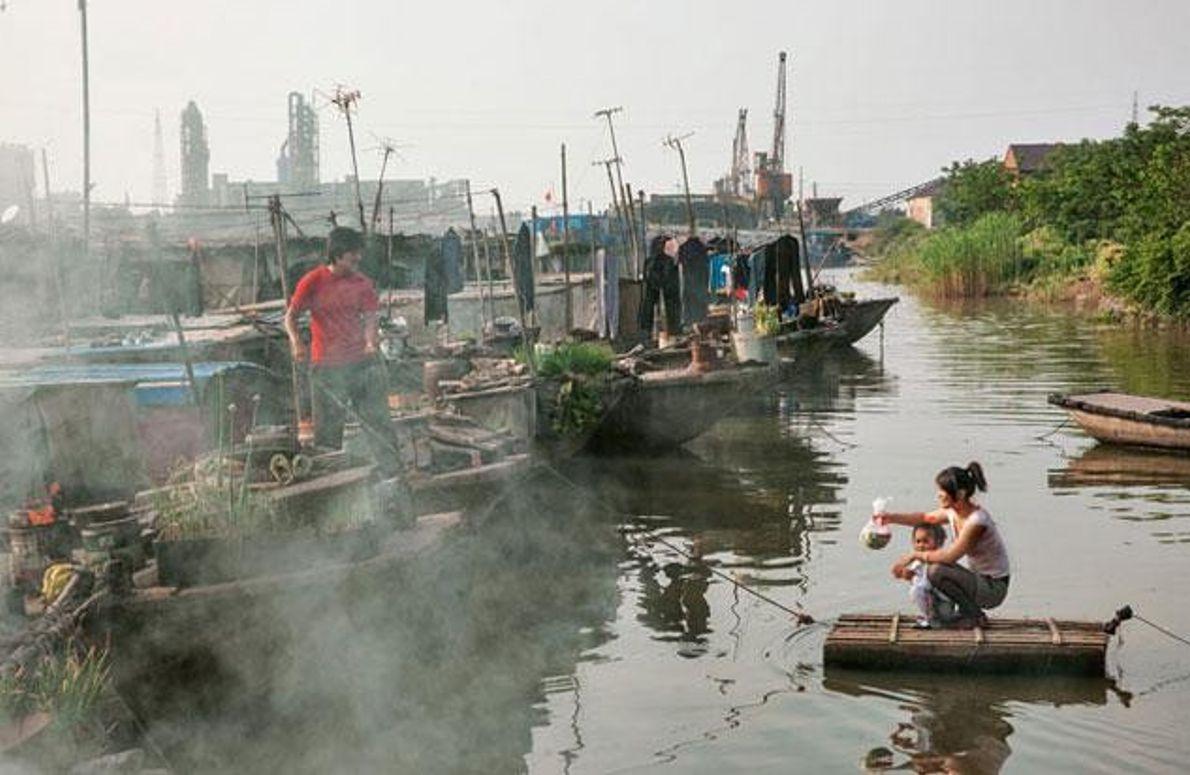 Alltag auf dem Großen Kanal
