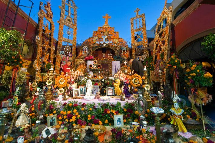 Altar in San Miguel de Allende, Mexico.