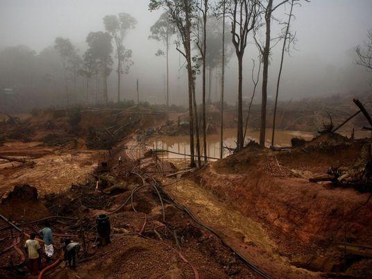 Illegales Goldschürfen fördert Malaria-Ausbrüche im Amazonas