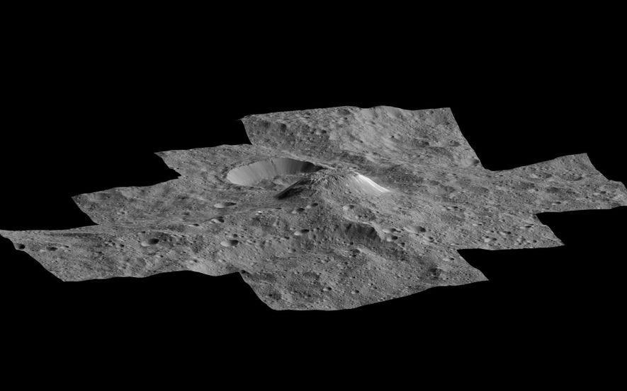Dutzende Eisvulkane auf Zwergplanet Ceres entdeckt
