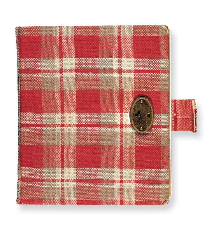 Anne Franks erstes Tagebuch war rot kariert. Darin dokumentierte sie die Ereignisse vom 12. Juni bis ...