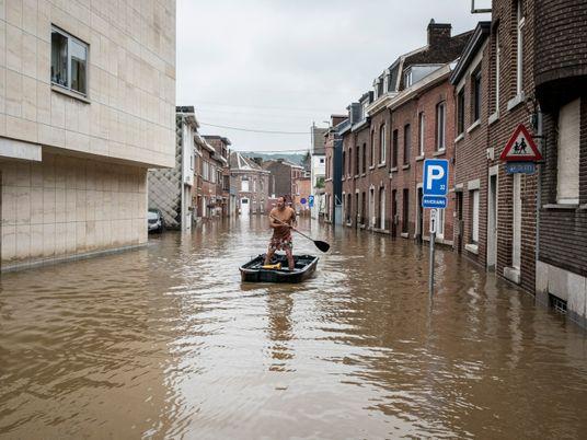 Galerie: Das Wetter von morgen: Warum Hochwasser in Deutschland häufiger werden könnten
