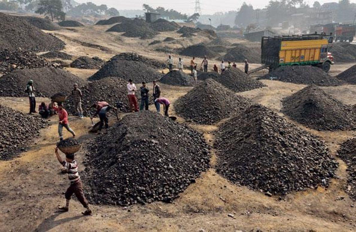 Arbeiter in Meghalaya