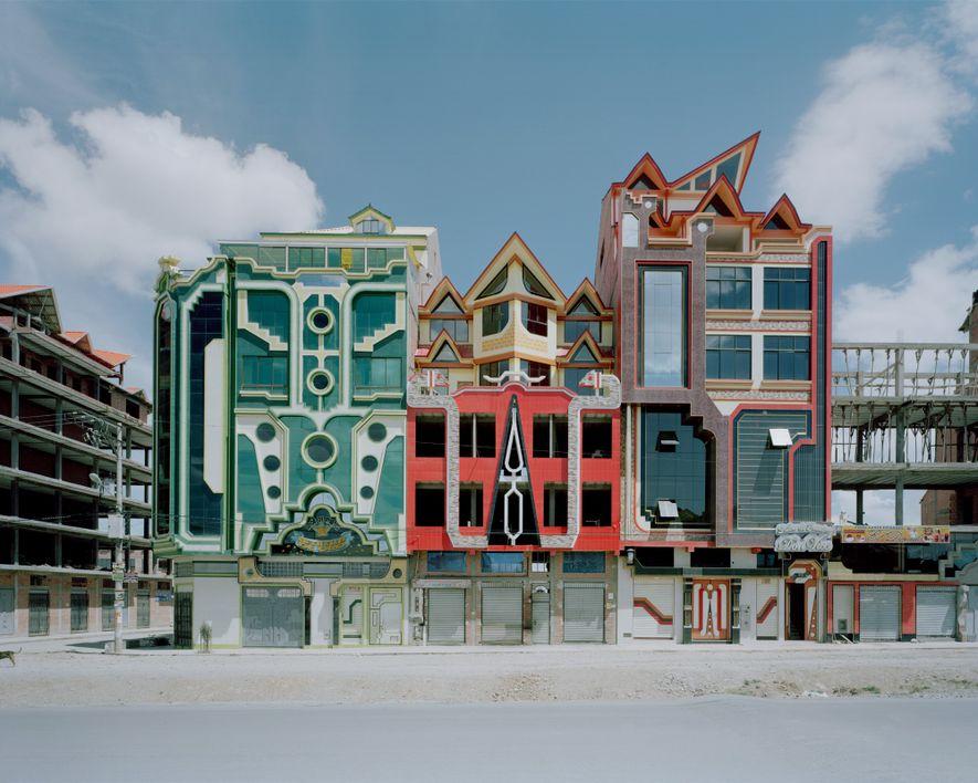 Boliviens futuristische neue Architektur
