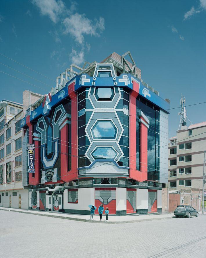 Mamanis futuristische Designs haben auch die Werke anderer Architekten inspiriert.