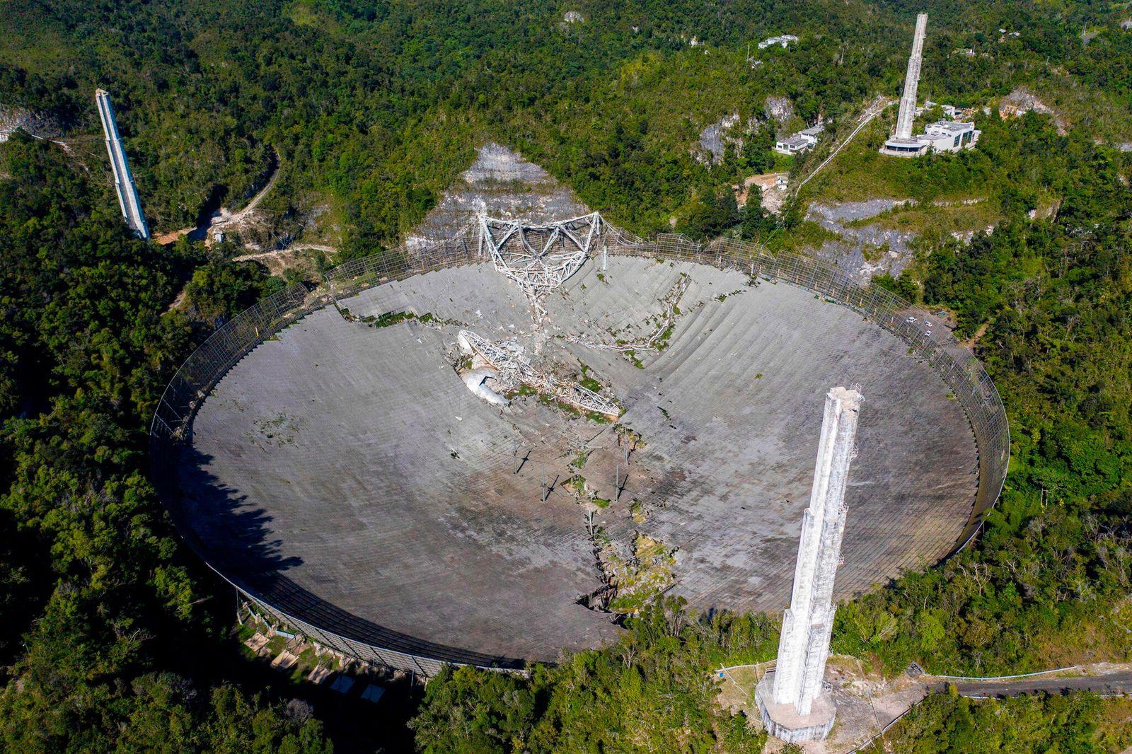 Puerto Rico: Berühmtes Radioteleskop ist eingestürzt