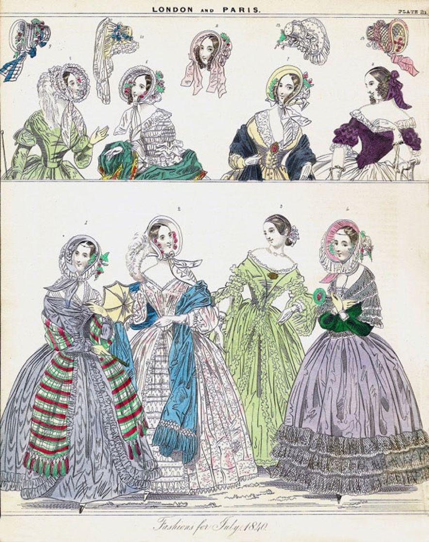 Arsen wurde sowohl als Farbstoff wie auch als Farbe genutzt. Nicht nur die grünen Kleidungsstücke und ...