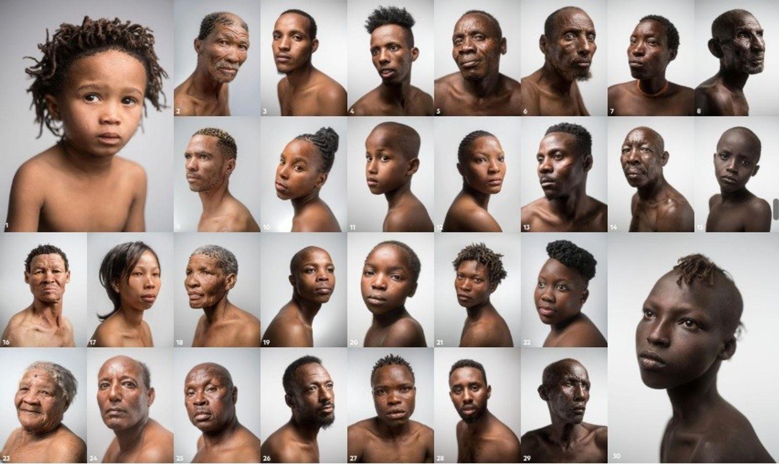 In Afrika gibt es eine grössere genetische Vielfalt als auf allen anderen Kontinenten zusammen     Das liegt daran, ...