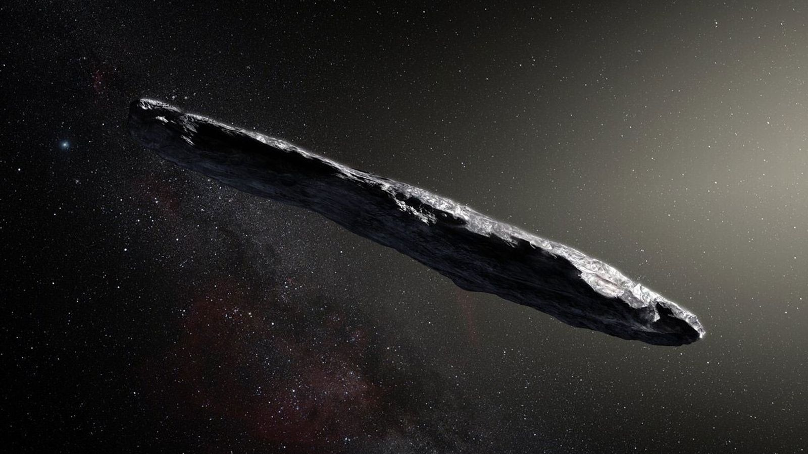 Illustration 'Oumuamua