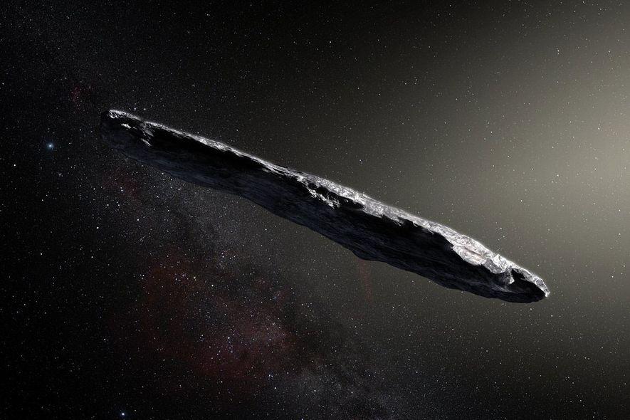 Seltsamer Besuch aus fernem Sonnensystem