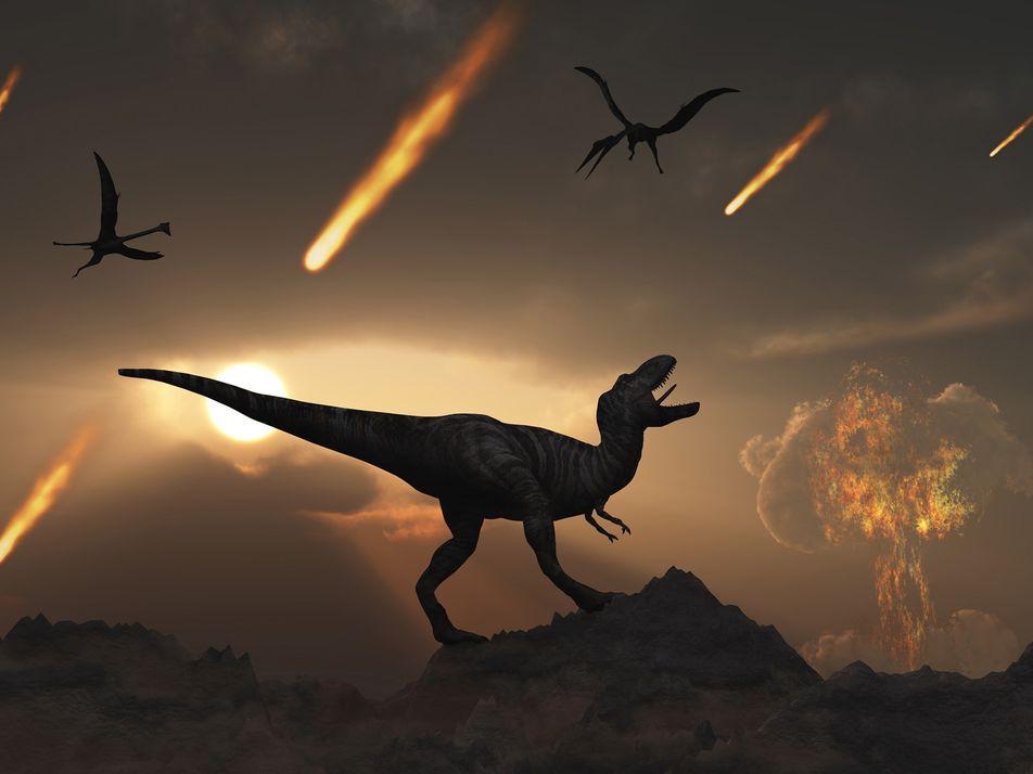 Nach dem Dino-Sterben: Vulkane sorgten für lebensfreundliches Klima