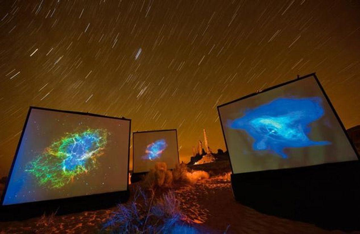 Astrokunst im Monument Valley