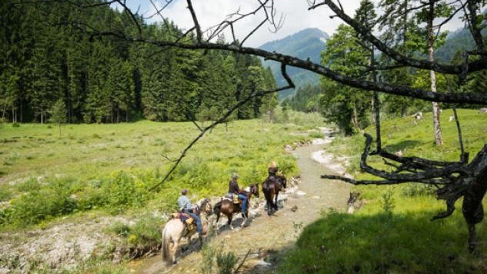 Auf dem Weg nach Oberammergau