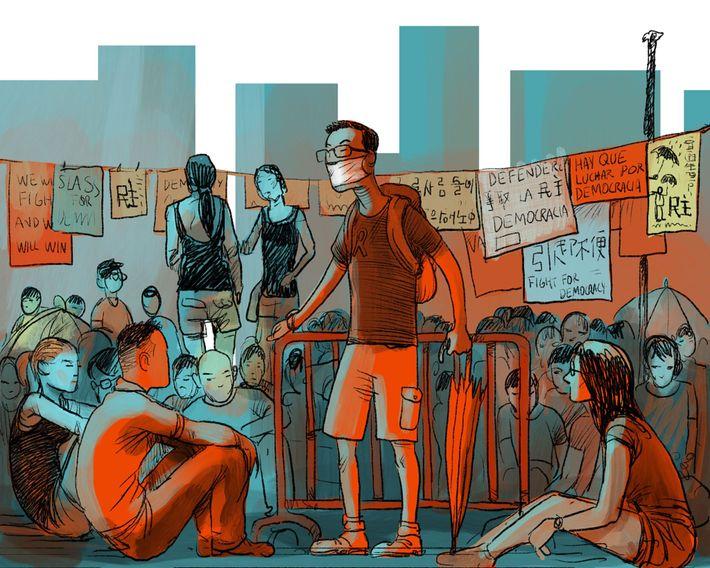 Hongkongs Geschichte August 2014