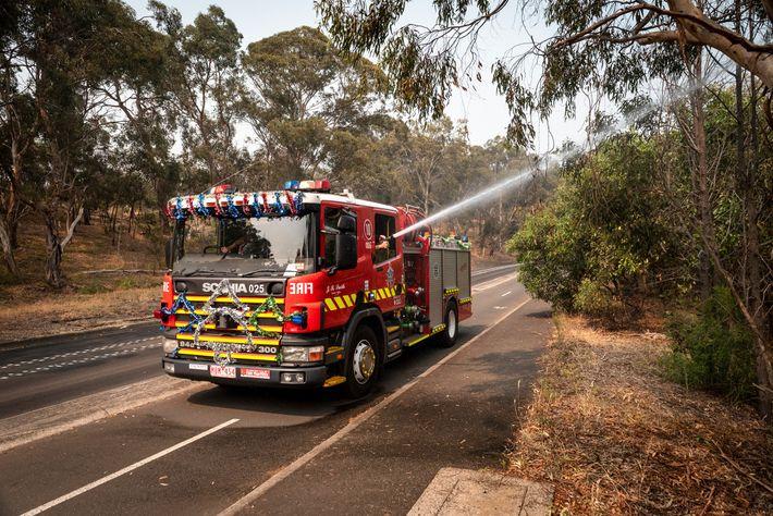 Feuerwehr Melbourne