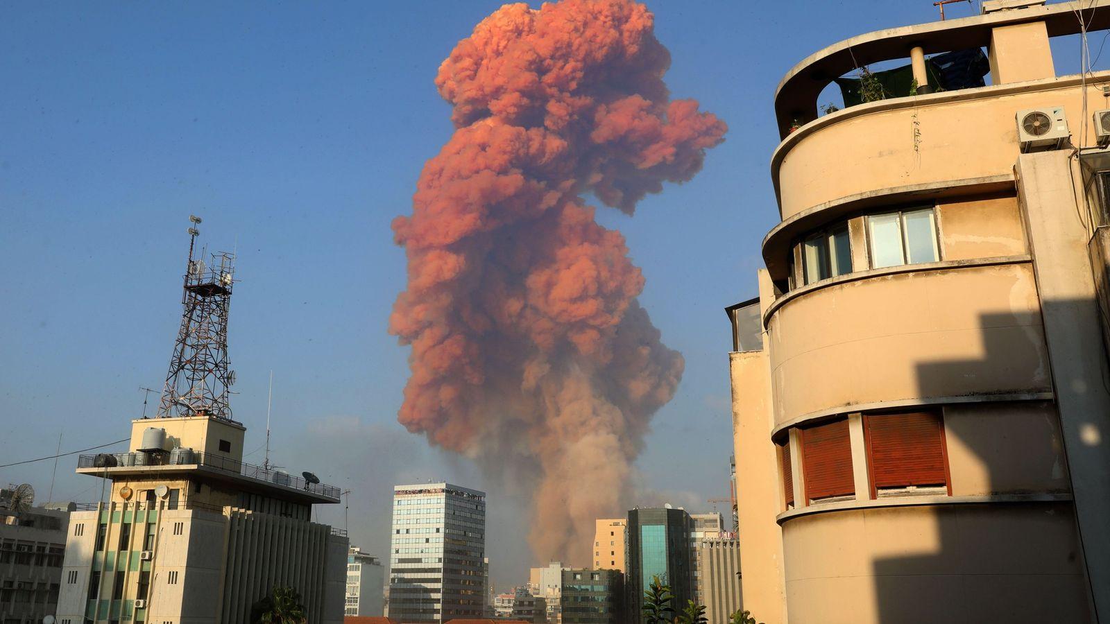Eine große Explosion erschütterte am 4. August die libanesische Hauptstadt Beirut. Die Detonation, die ganze Gebäude ...
