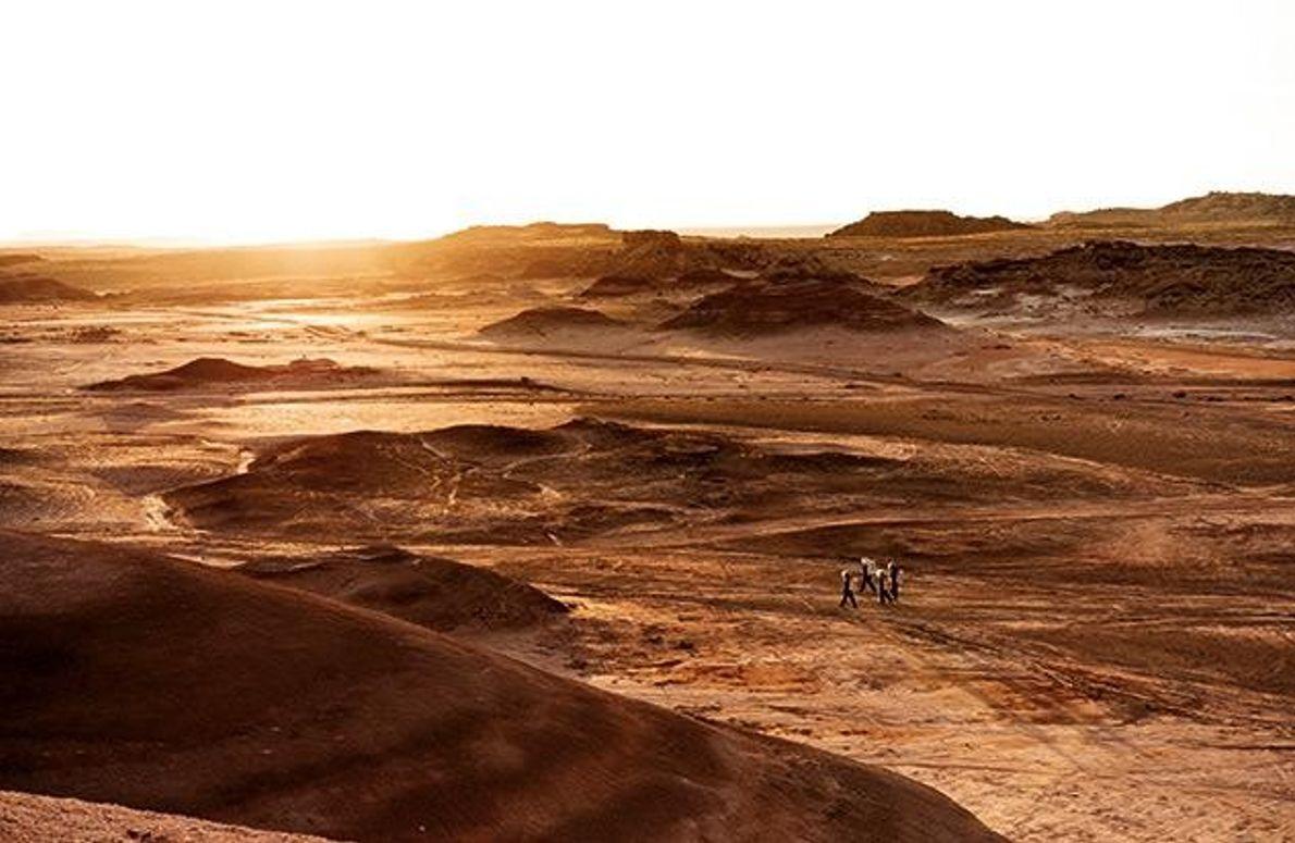 Besiedlung des Mars