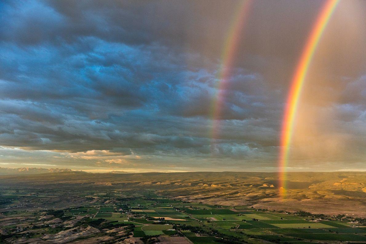 Als Ken Geiger das Ackerland rund um Montrose in Colorado erkundete, zauberten ihm Regenschauer ein paar ...
