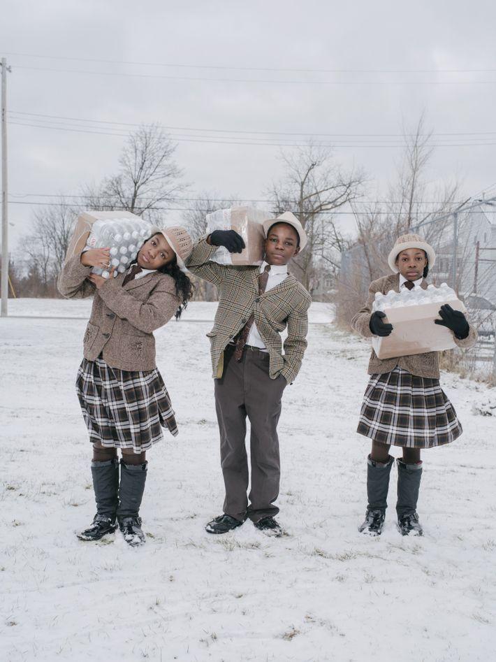 FLINT, Michigan. Als im Jahr 2016 Berichte enthüllten, dass das Wasser in Flint schon seit Jahren ...