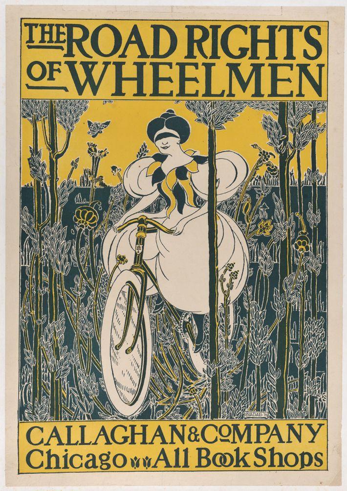 """Das Buch """"The Road Rights of Wheelmen"""" erklärte die gesetzlichen Rechte von Radfahrern bei der Benutzung ..."""