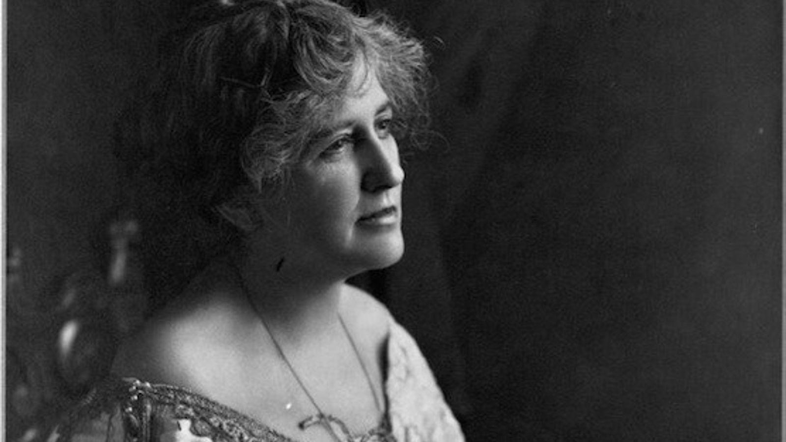 Helen Hamilton Gardener widersprach im 19. Jahrhundert der gängigen Meinung, dass die geringere Gehirngröße von Frauen ...