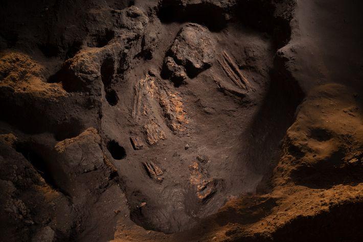Ausgrabungen in der 10.300 Jahre alten Stätte Boncuklu in der Türkei offenbarten, dass Menschen schon dort ...
