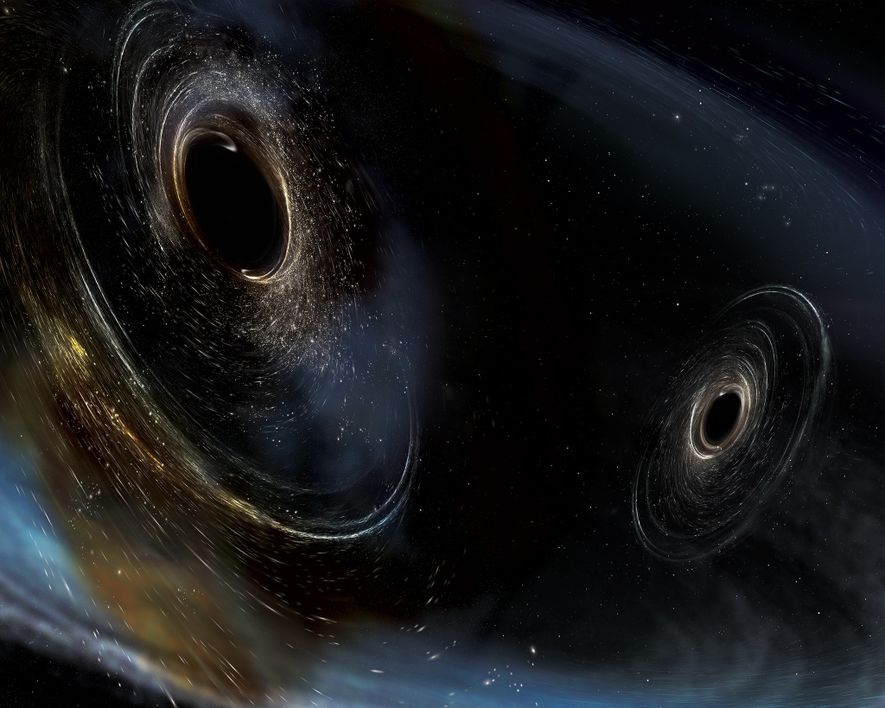 Neue Raumzeit-Wellen offenbaren seltsame Schwarze Löcher
