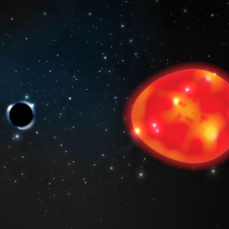 """""""Dunkles Einhorn"""": Das bisher kleinste und erdnächste Schwarze Loch?"""