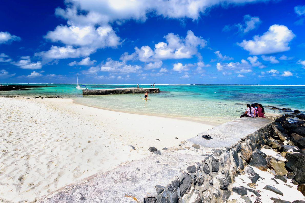Foto vom Blue Bay Beach in Mahebourg, Mauritius