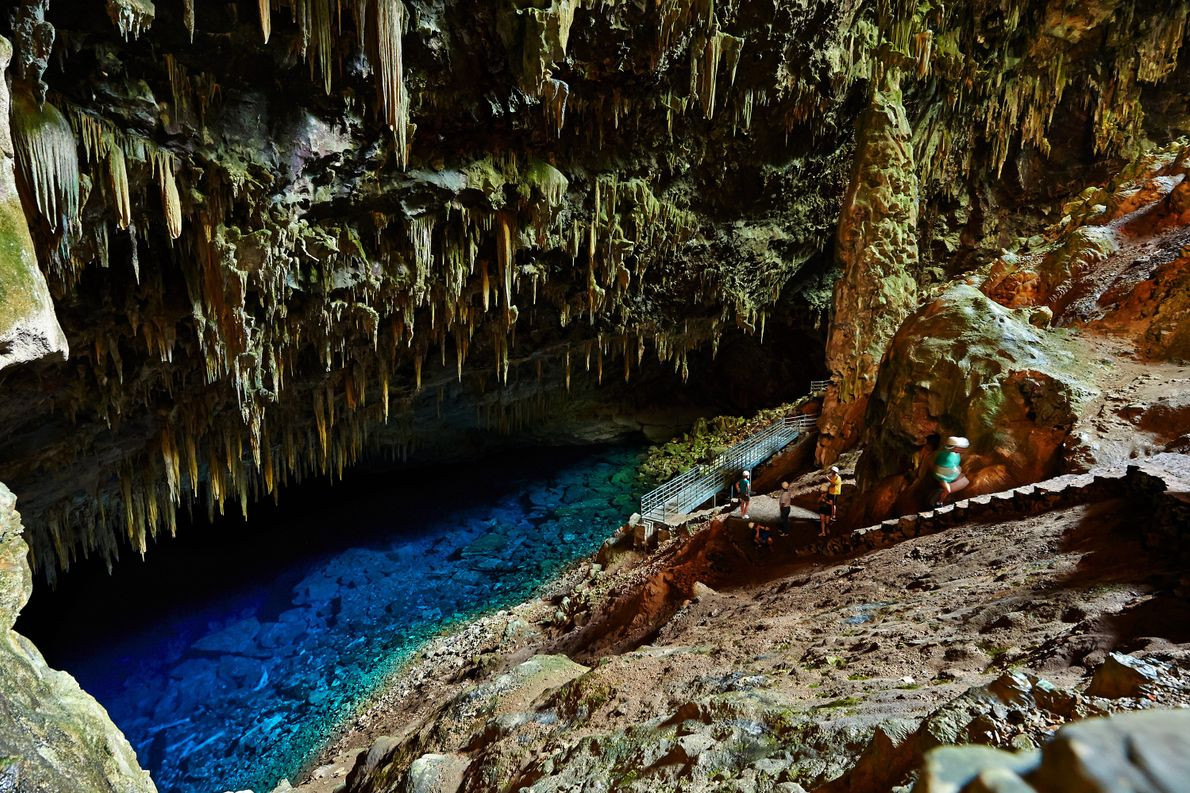 Blue Lake Grotto