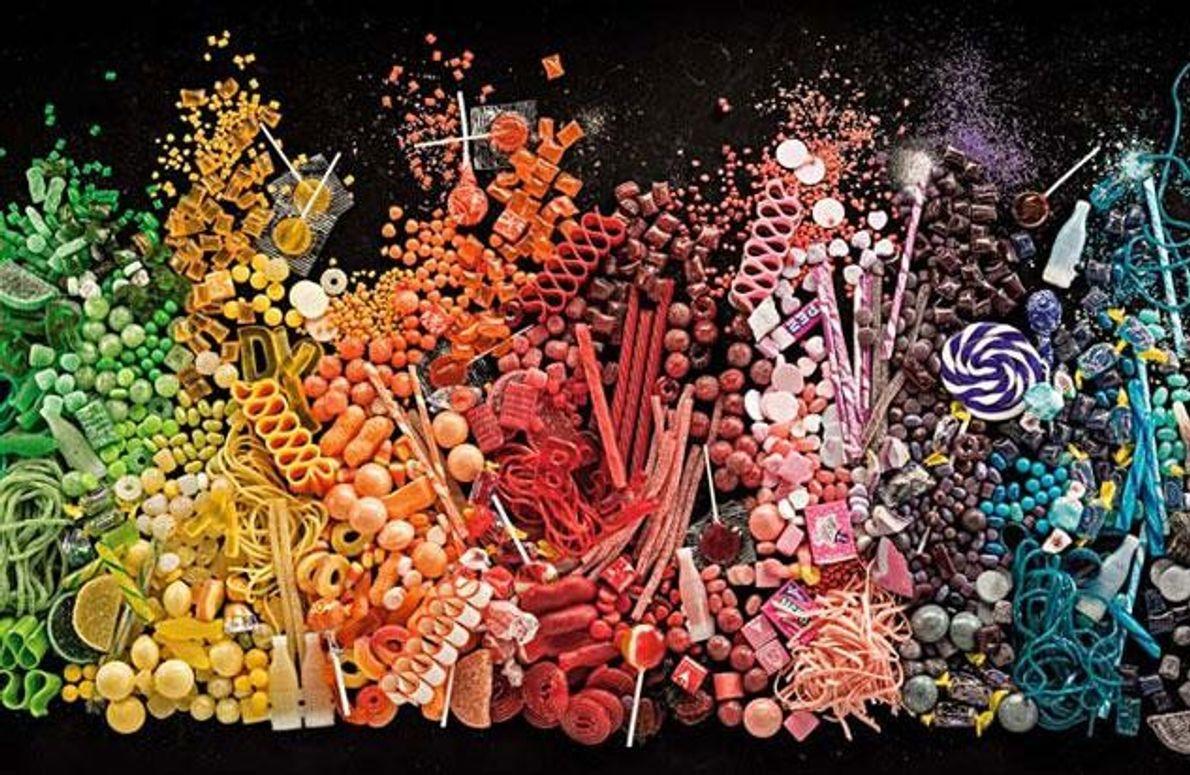 Amerikaner lieben Süßigkeiten. Im Jahr 2011 gaben sie 32 Milliarden Dollar dafür aus. Der Pro-Kopf-Verbrauch lag …